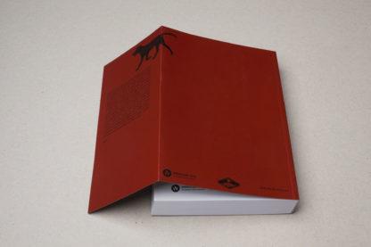 Tylna okładka książki pod tytułem Przewodnik po zaminowanym terenie