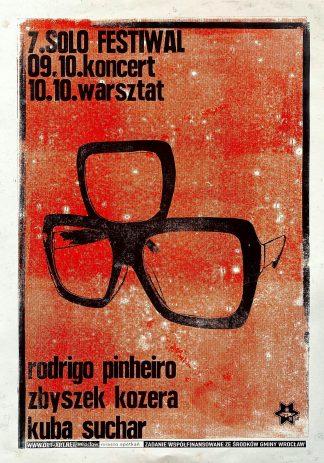 Rodrigo Pinheiro / Zbyszek Kozera / Kuba Suchar - koncert i warsztaty Solo Festiwal (9-10 X 2021)