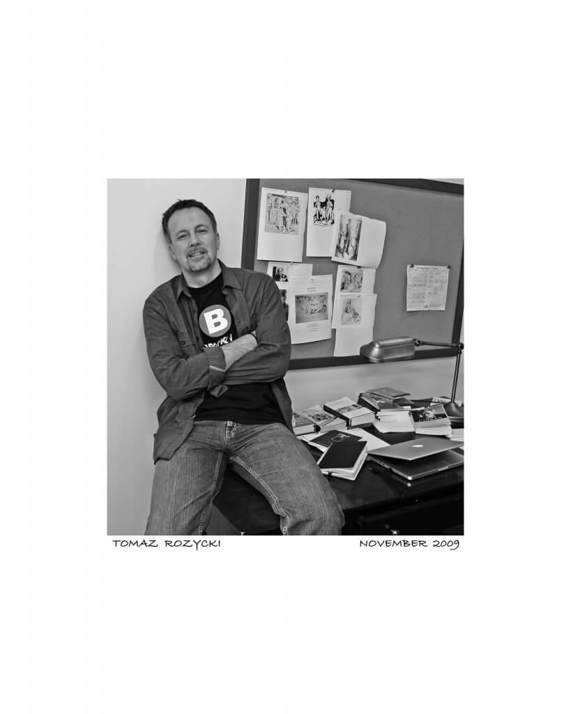 Tomasz Różycki (fot.Howard Romero)