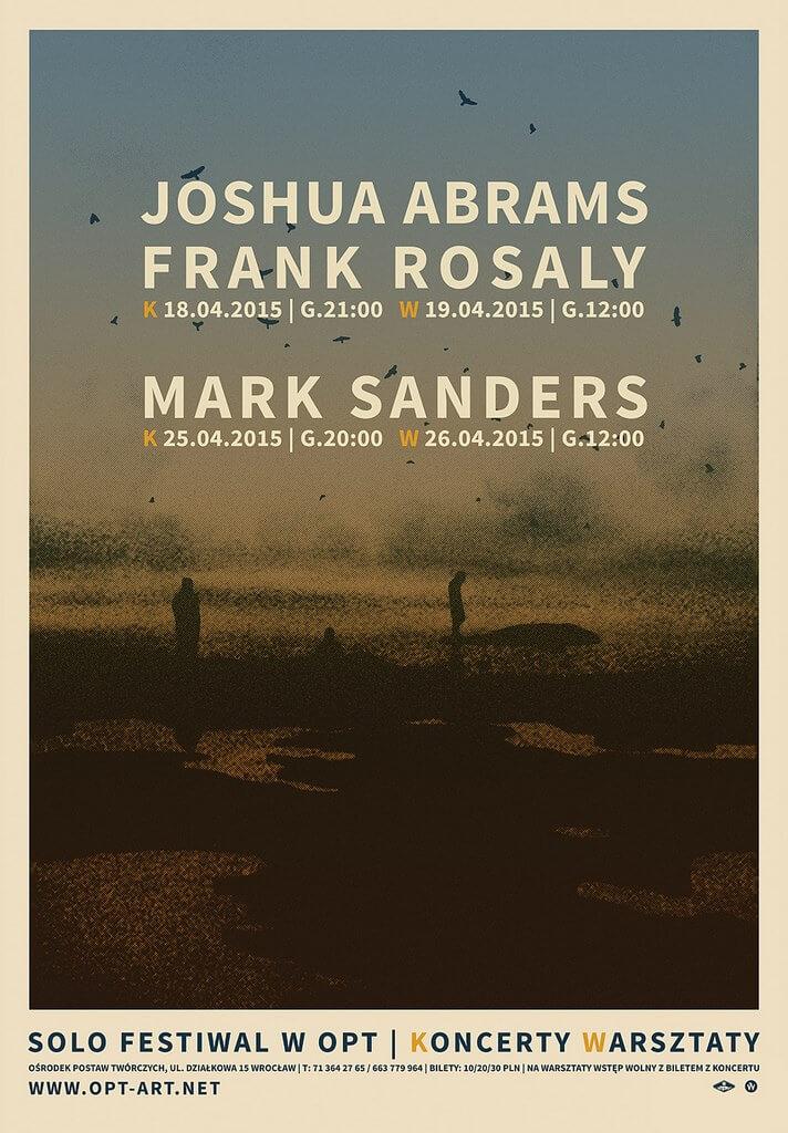 Joshua Abrams / Frank Rosaly / Mark Sanders