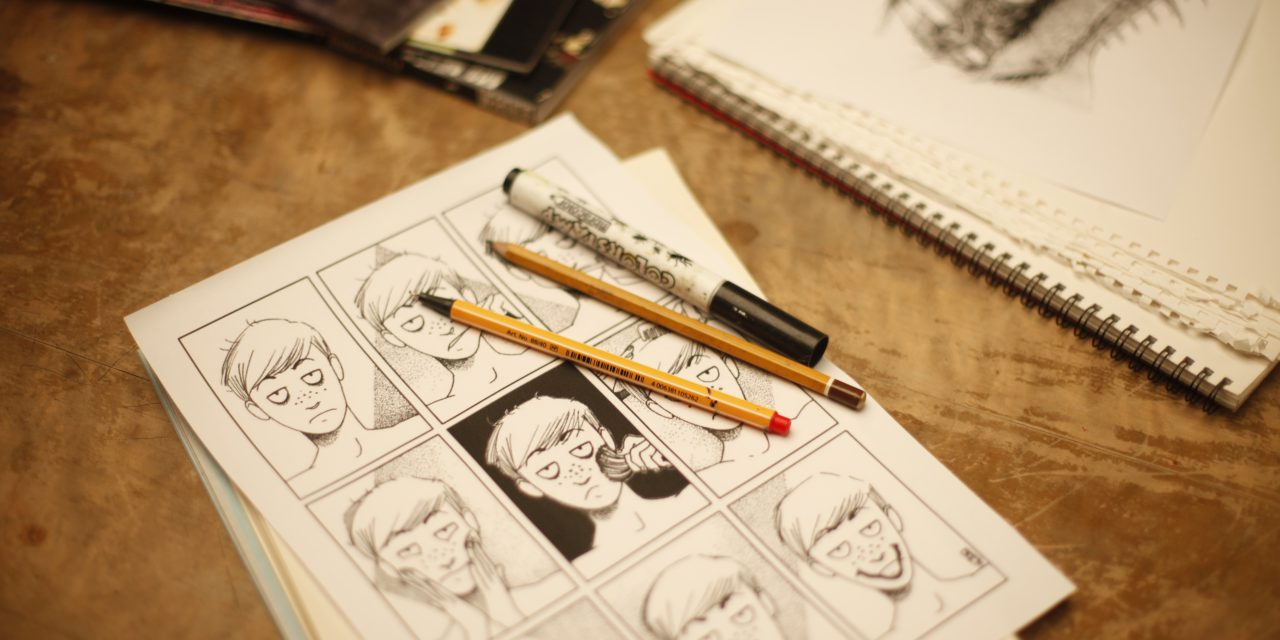 Comic Books & The Elements Of Illustrations Course