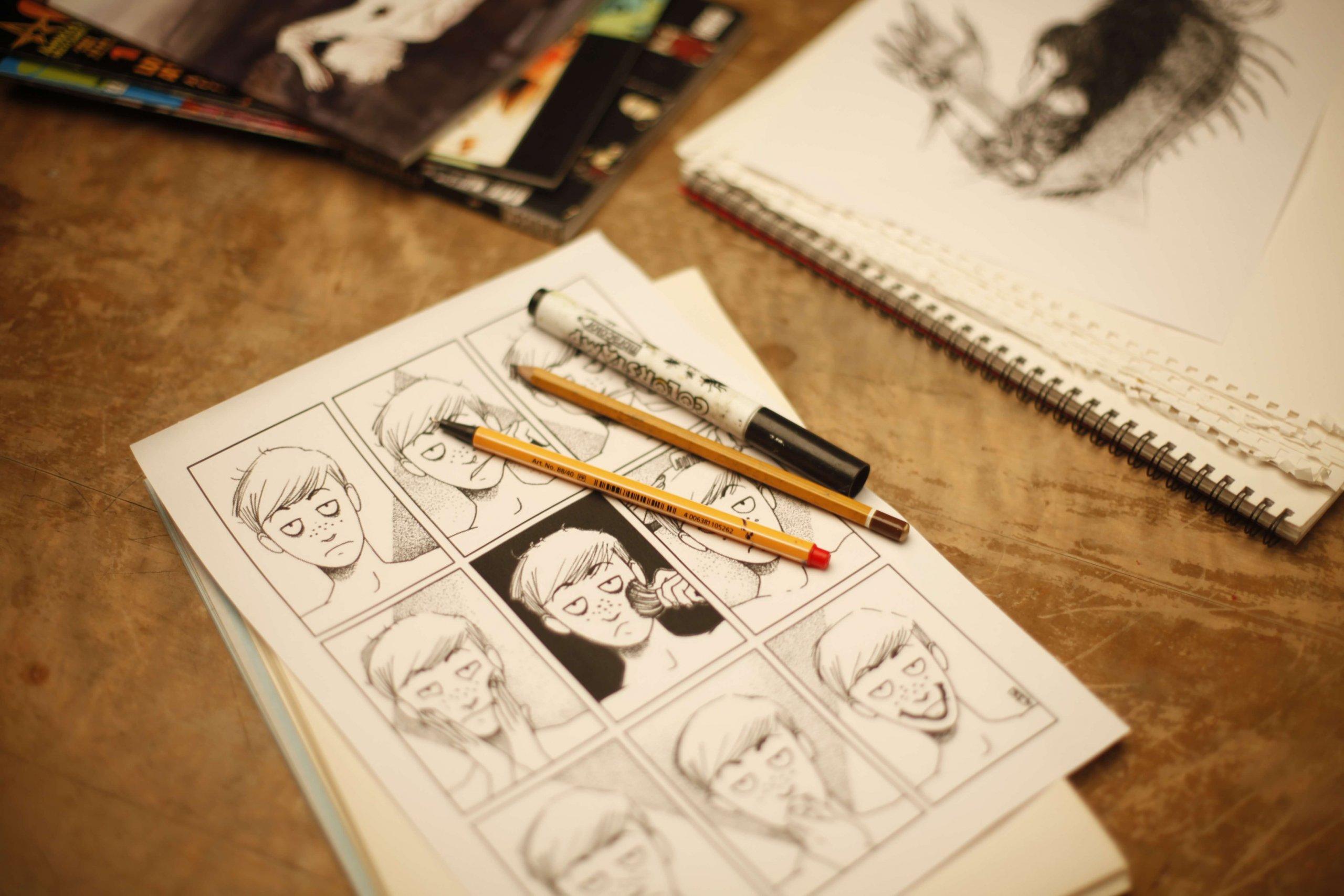 Kurs Komiksu iPodstaw Ilustracji