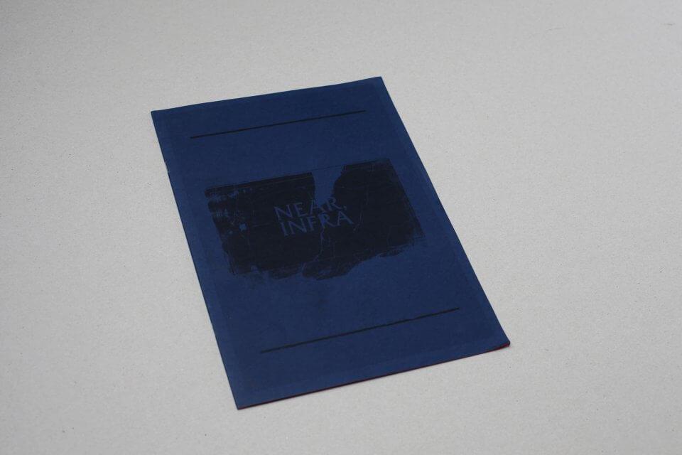 Okładka książki podtytułem Near, infra