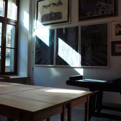 Wnętrze pracowni grafiki warsztatowej