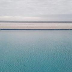 horyzont nad jeziorem