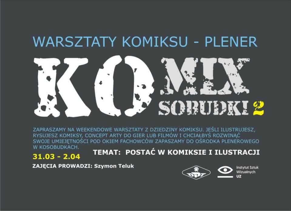 Weekendowe warsztaty komiksu wKosobudkach - 2 edycja