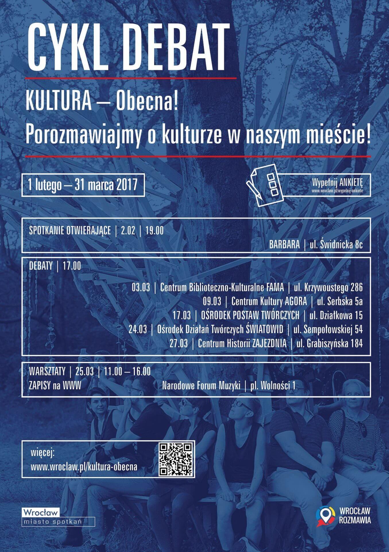 Podtrzymanie prestiżu wrocławskiej kultury – Debata wOPT (17.03)