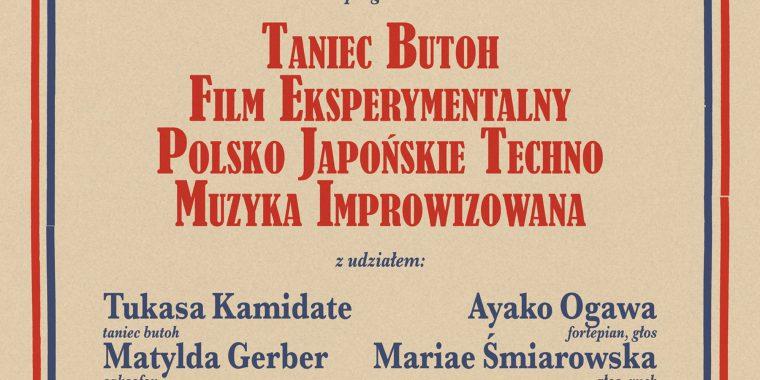 Butoh Techno – spektakl audiowizualny (7.05)