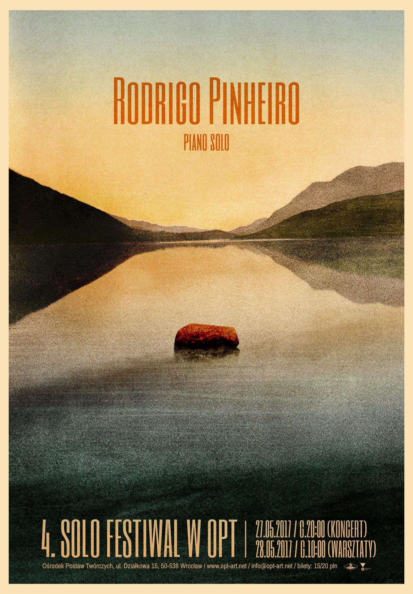 Rodrigo Pinheiro / 4. Solo Festiwal (27.05)