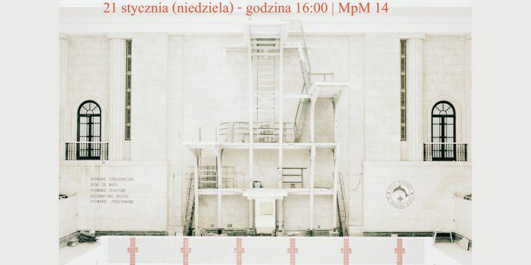 """Jacek Fota """"PKiN"""" – oprowadzanie powystawie (21.01) orazspotkanie autorskie (22.01)"""