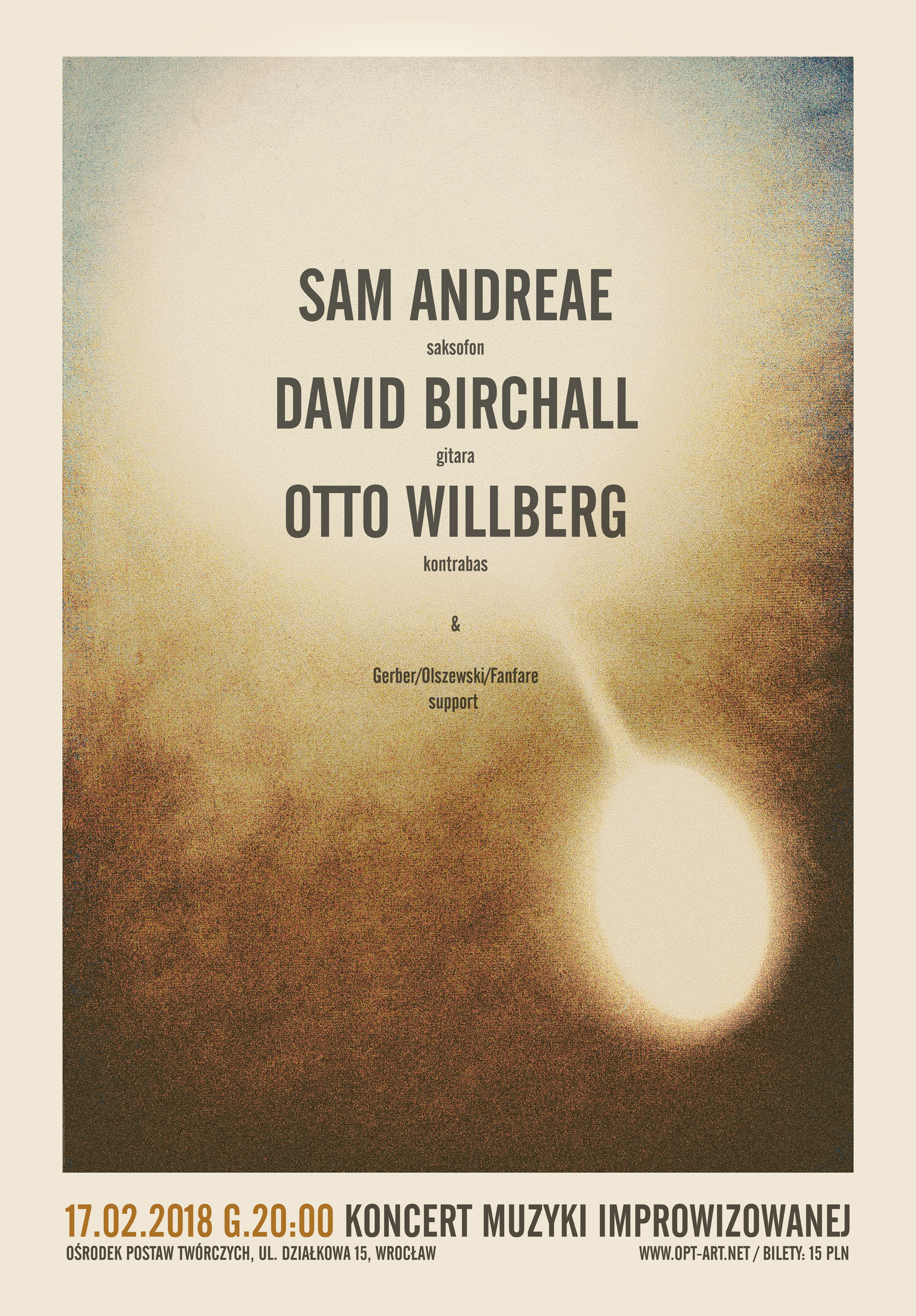 Sam Andreae / David Birchall / Otto Willberg