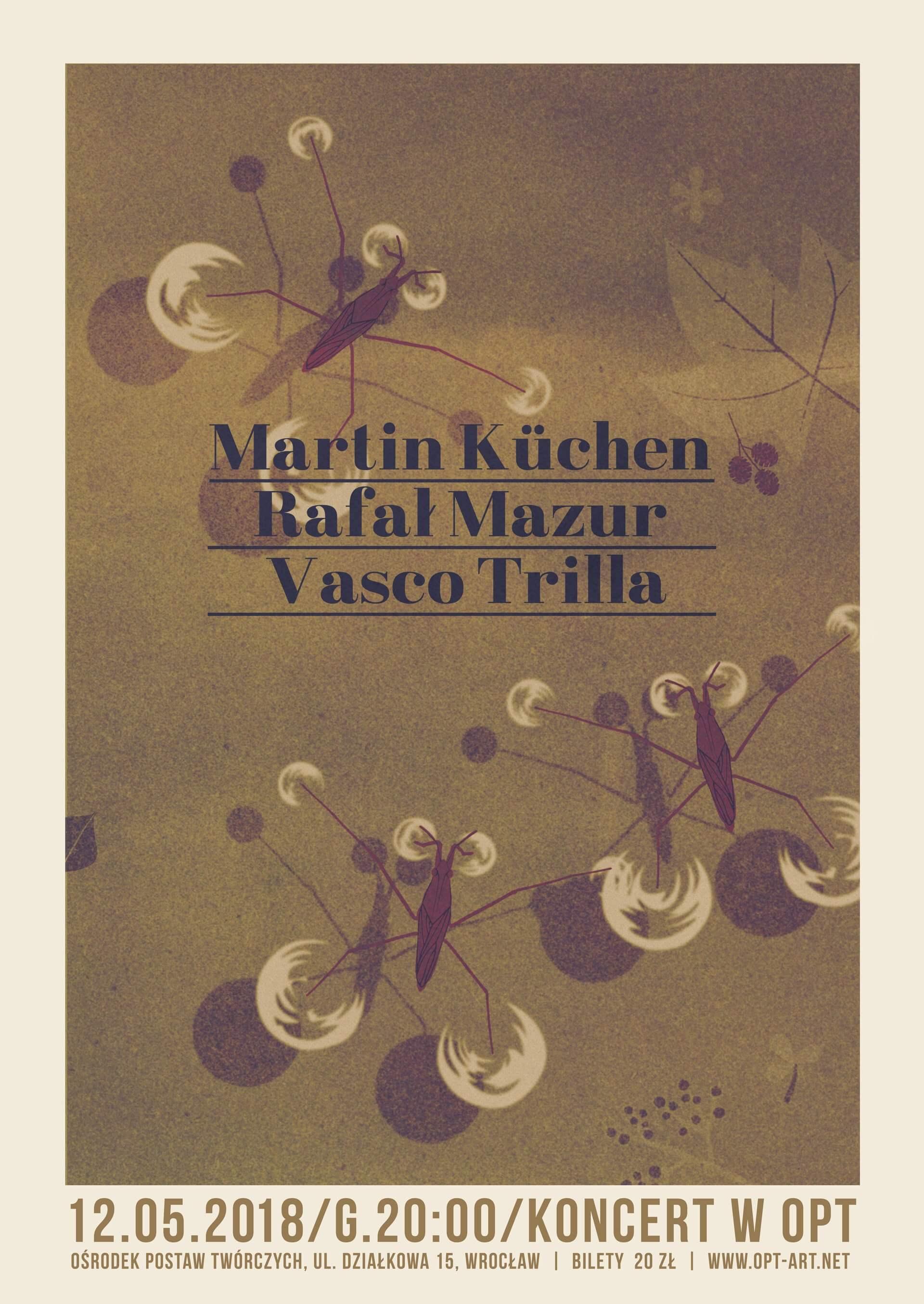 Martin Küchen / Rafał Mazur / Vasco Trilla trio