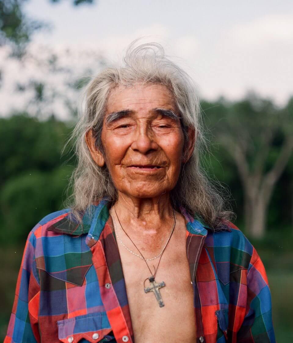 Portret starego mężczyzny.