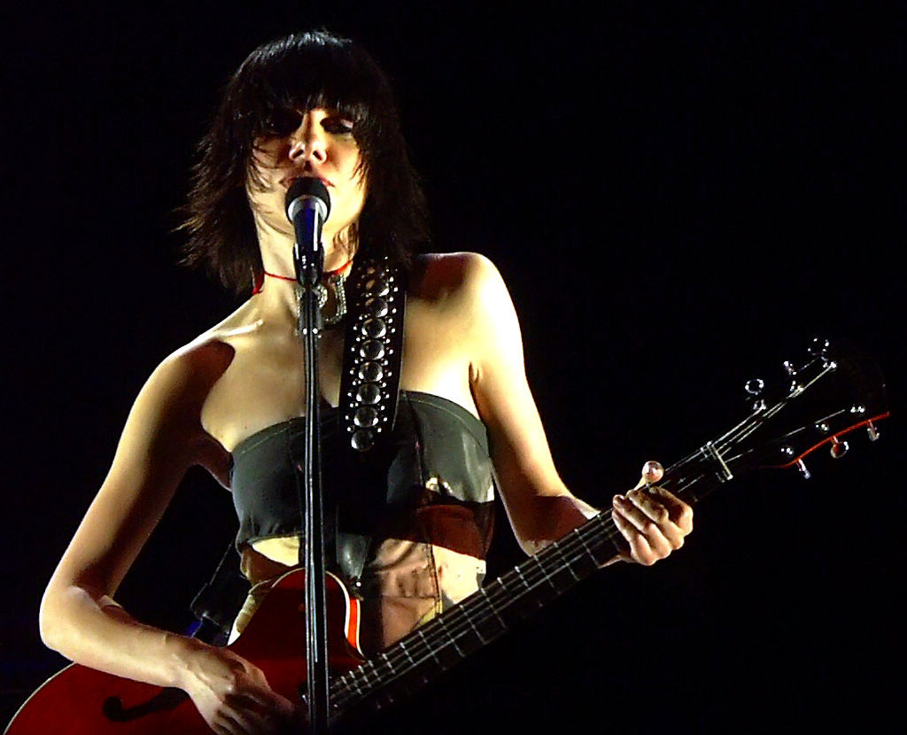 PJ Harvey (Dave Mitchell, Wikipedia, CC)