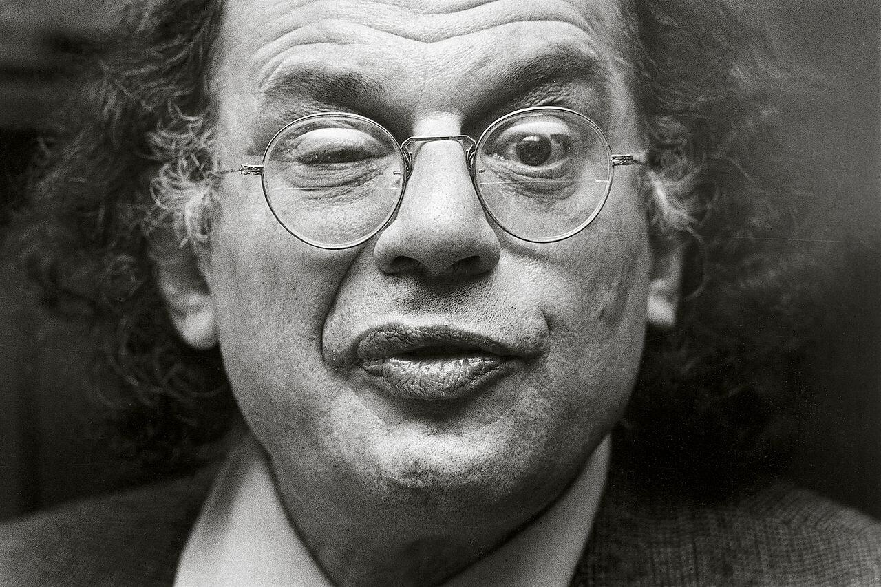 Allen Ginsberg (fot.Michiel Hendryckx, Wikipedia, CC)