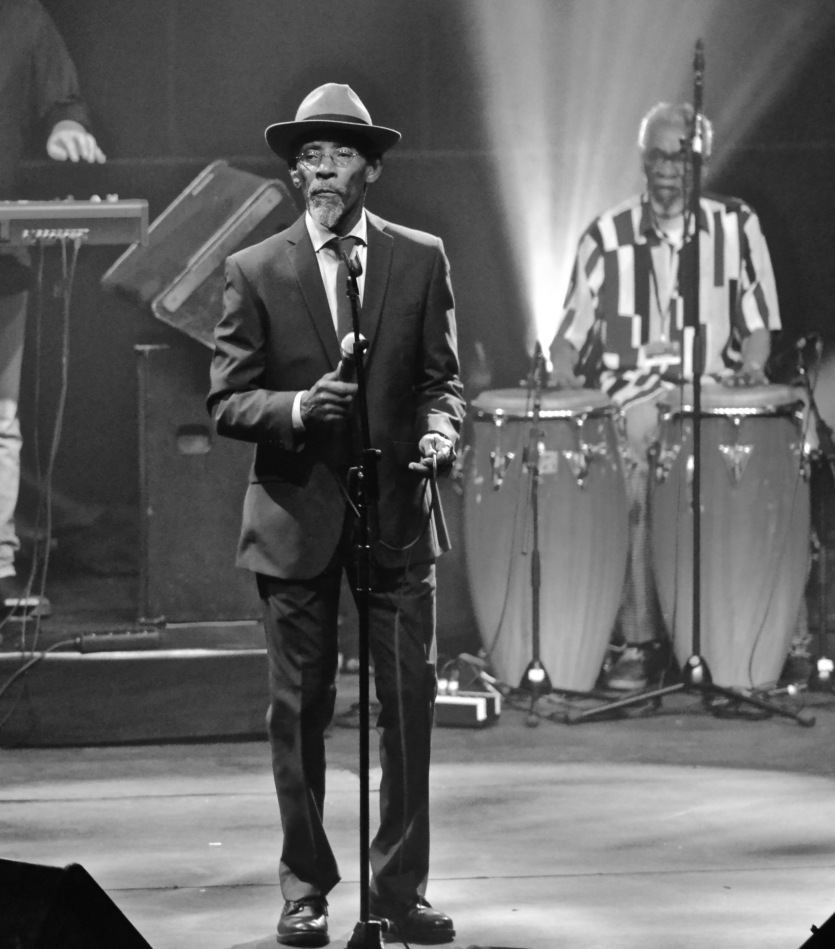 Linton Kwesi Johnson (fot. Peter Verwimp - Wikipedia, CC)