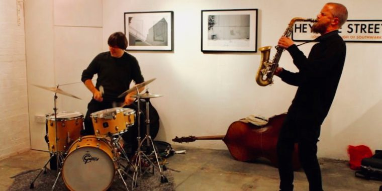 Colin Webster & Mark Holub duo, Stephen Grew solo (1.03)