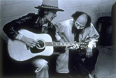 Bob Dylan iAllen Ginsberg, fot.Elsa Dorfman (Wikipedia, CC)