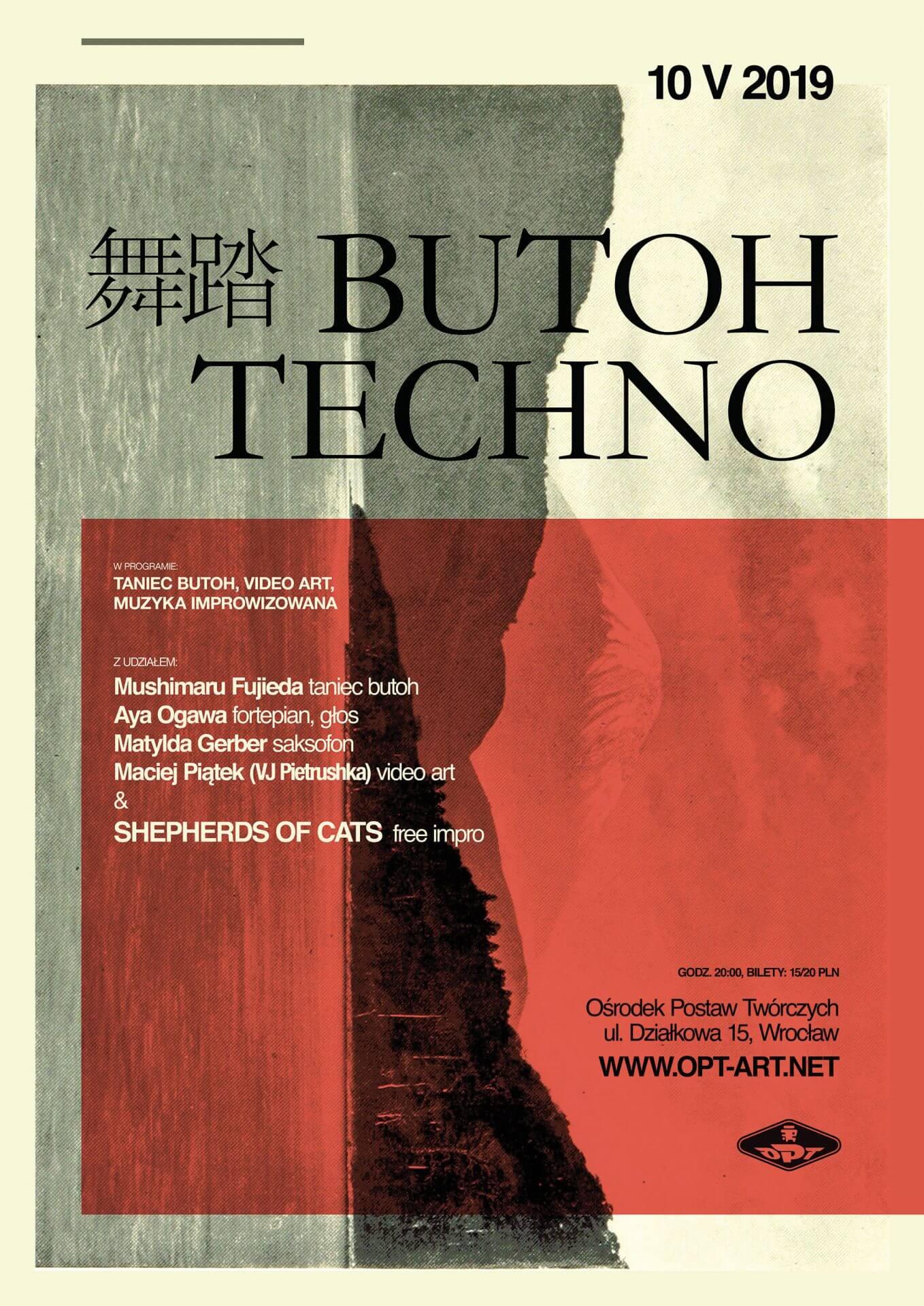 Butoh Techno – spektakl audiowizualny (10.05)