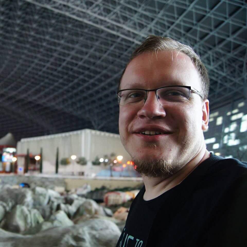 Rafał Gawin (fot.Ewelina Fladzińska)