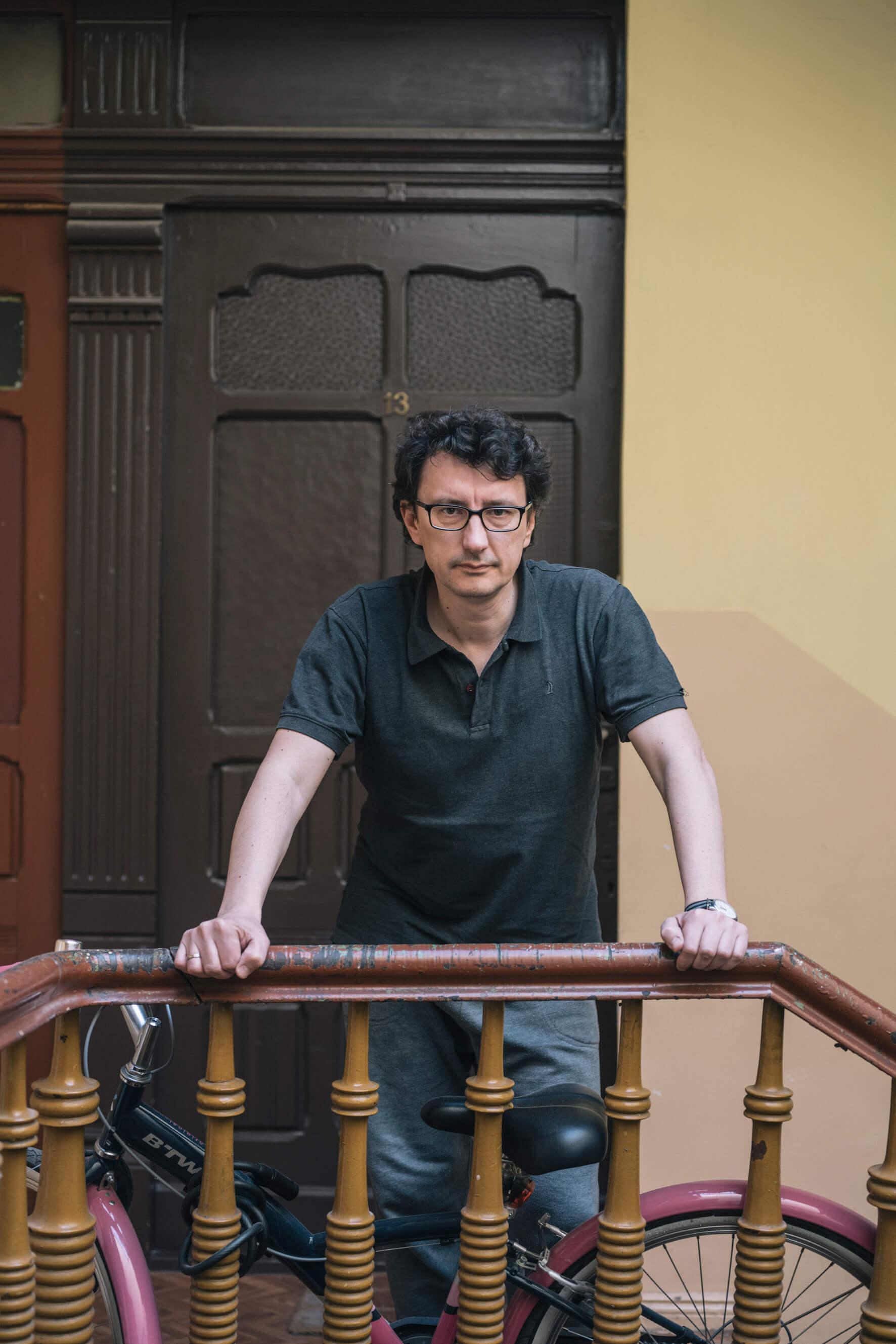 Maciek Bielawski (fot.Krzysiek Orłowski)