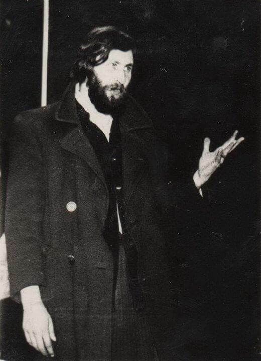 """Leonid Szwiec, Lwów 1979 (fot.Grigorij """"Greg"""" Porycki)"""