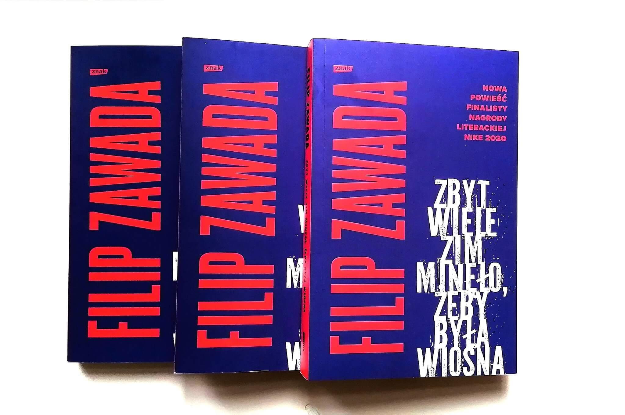 Filip Zawada – nowa powieść