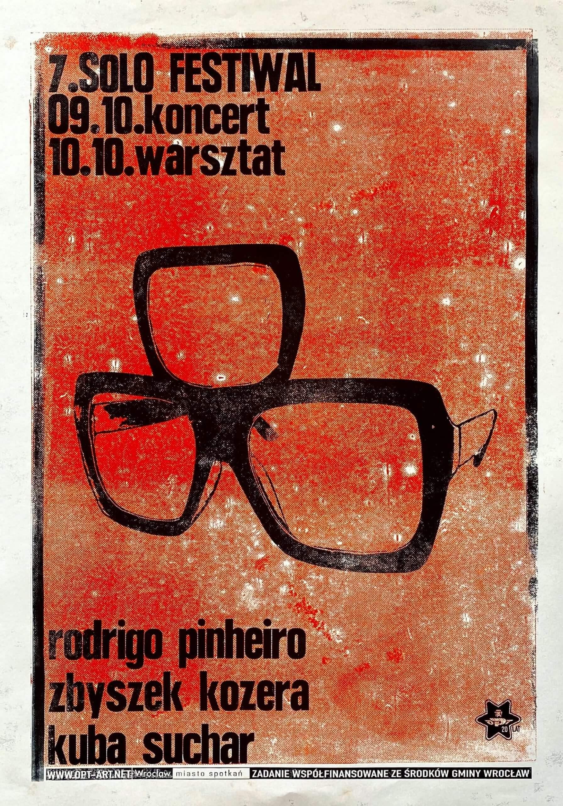Rodrigo Pinheiro / Zbyszek Kozera / Kuba Suchar - Solo Festiwal (9-10 X 2021)